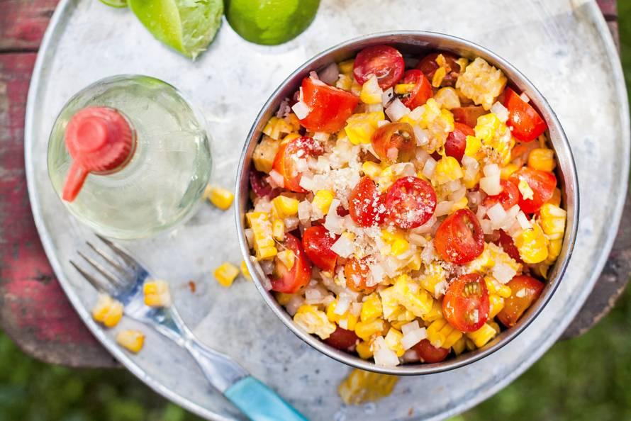 recept bbq salade