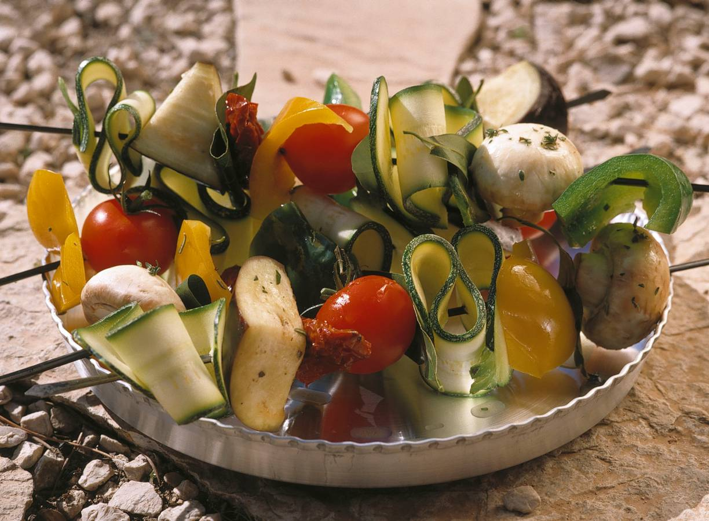 Stoere groentespiesen