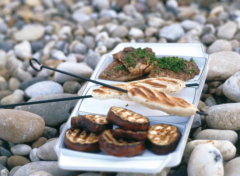 Kalfsschnitzels met olijvenpesto