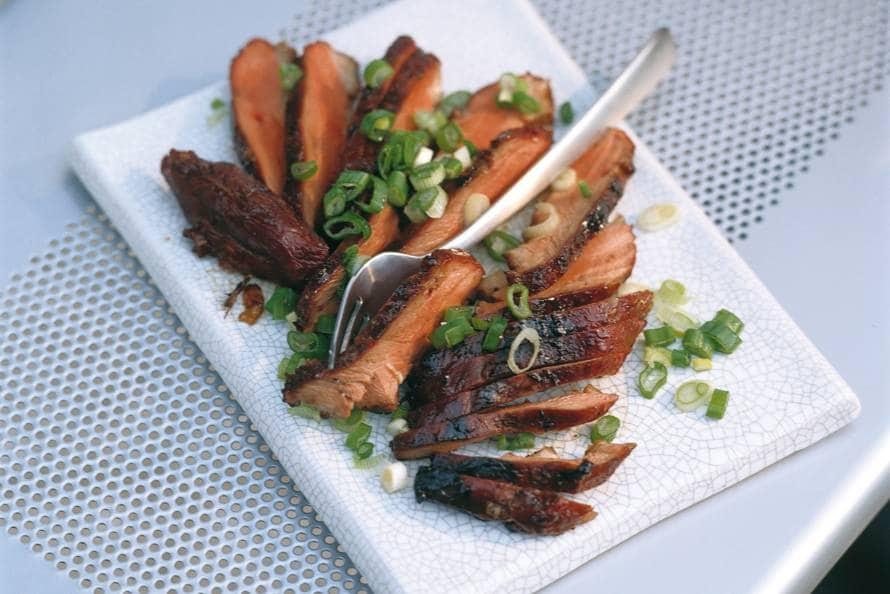 Eendenborst met Chinese kruiden