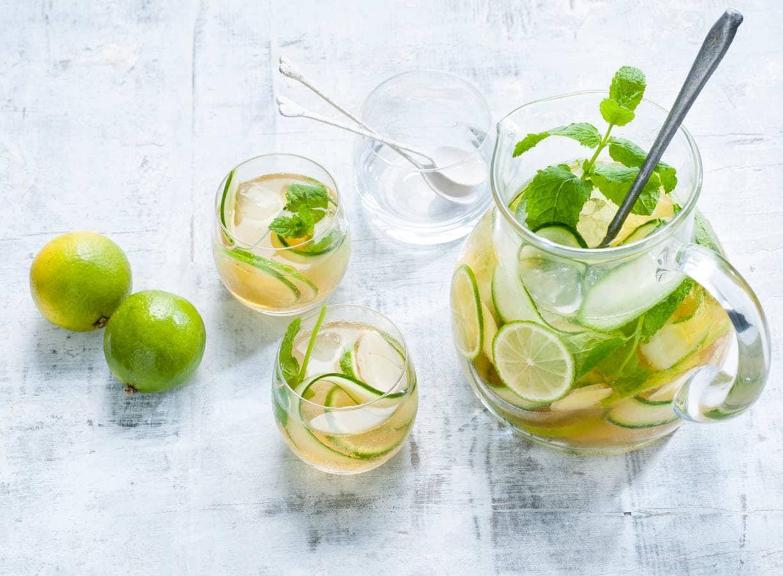Groene ijsthee