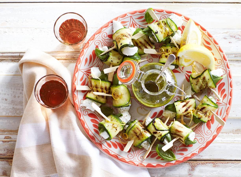 Tapas groente: courgetterolletjes