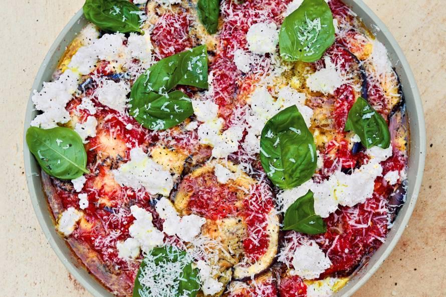 Bill Granger's aubergine parmigiana