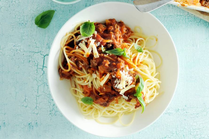 spaghetti bolognese ah