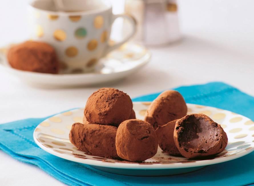Chocolade-serehtruffels