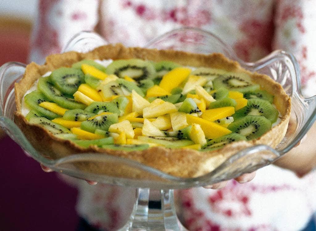 Taart met tropisch fruit - Albert Heijn
