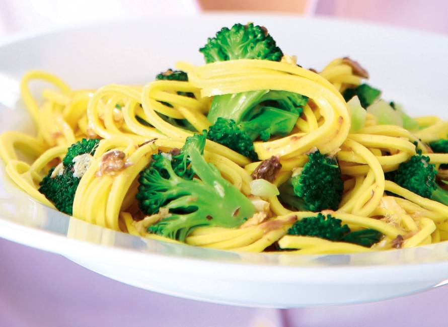 Broccolispaghetti
