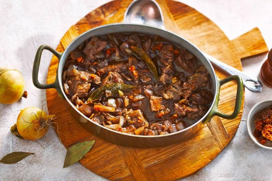 recept stoofvlees peperkoek