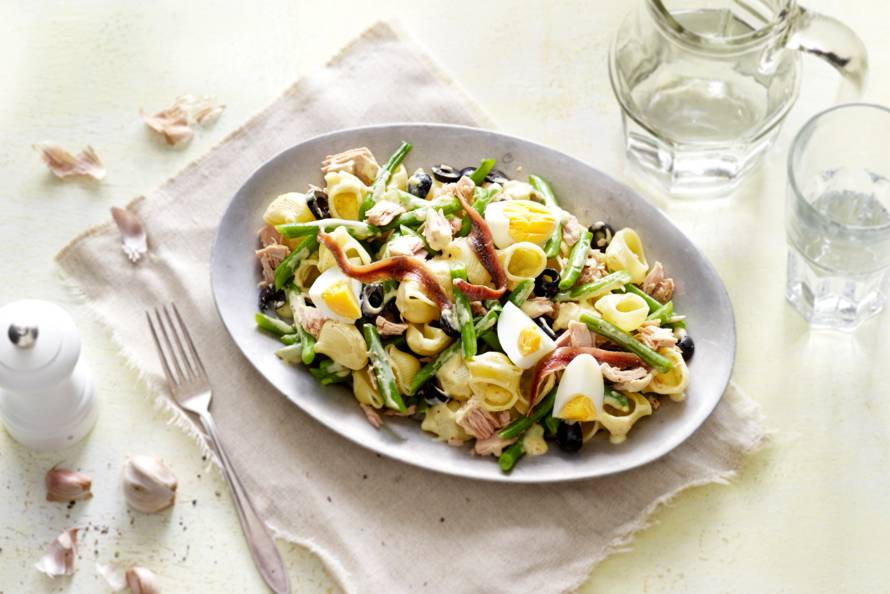 pastasalade tonijn recept