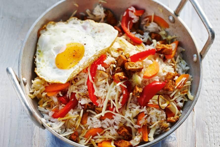 vega gerecht met rijst