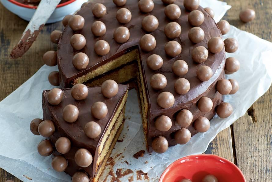 New Koffie-chocoladetaart met Maltesers - Recept - Allerhande - Albert @UX96