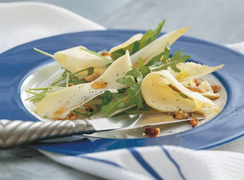 Kaasraclette met lauwwarme aardappelsalade