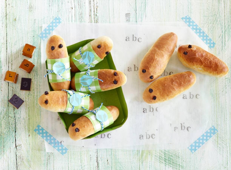 Opperdepop: rupsbroodjes met knakworst (24+ mnd)
