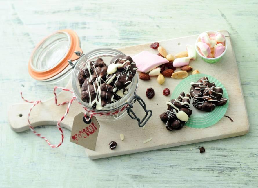 Marshmallow-chocoladerotsjes