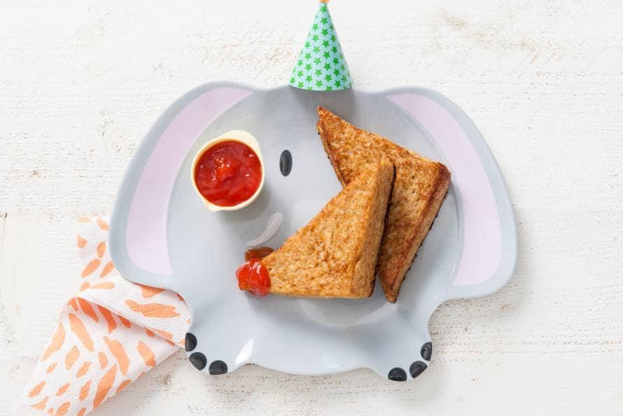 Opperdepop: kaasbroodjes uit de koekenpan 1-2 jr