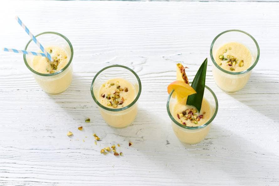 Mango-kokos-ananassmoothie