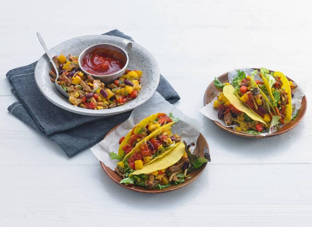Taco's met gyros, mango en salsa - Albert Heijn