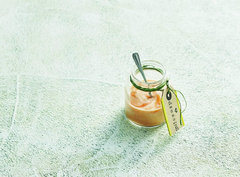 Pittige yoghurtdressing