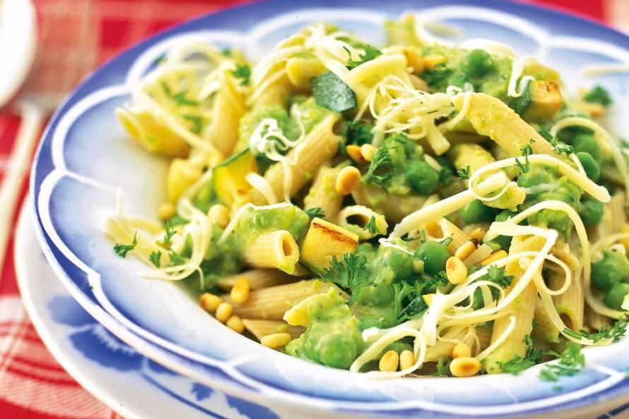 New Pasta met saus van groene groenten - Recept - Allerhande - Albert @LP93