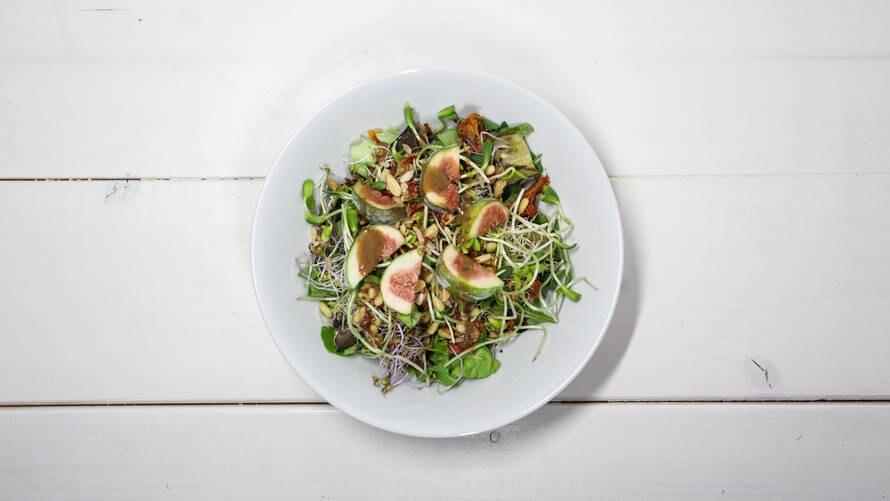Food Bandits' gevarieerde salade