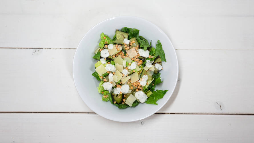 Anna Rikes courgettesalade