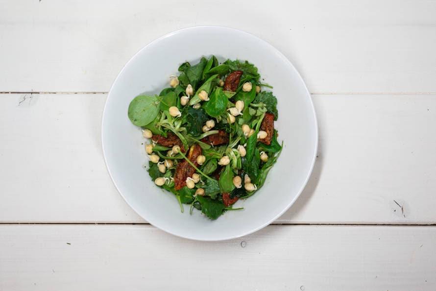 Moderosa's frisse mix salade