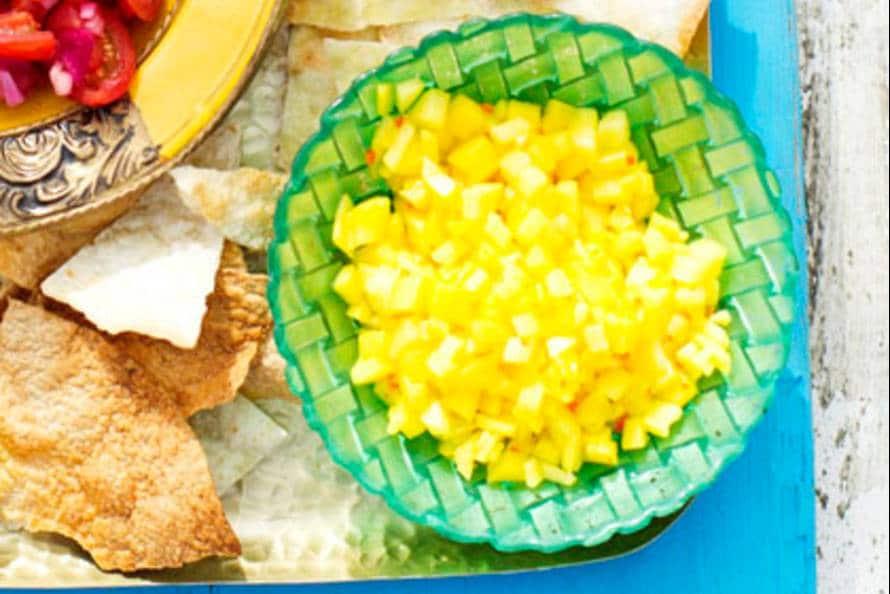 Salsa amarillo