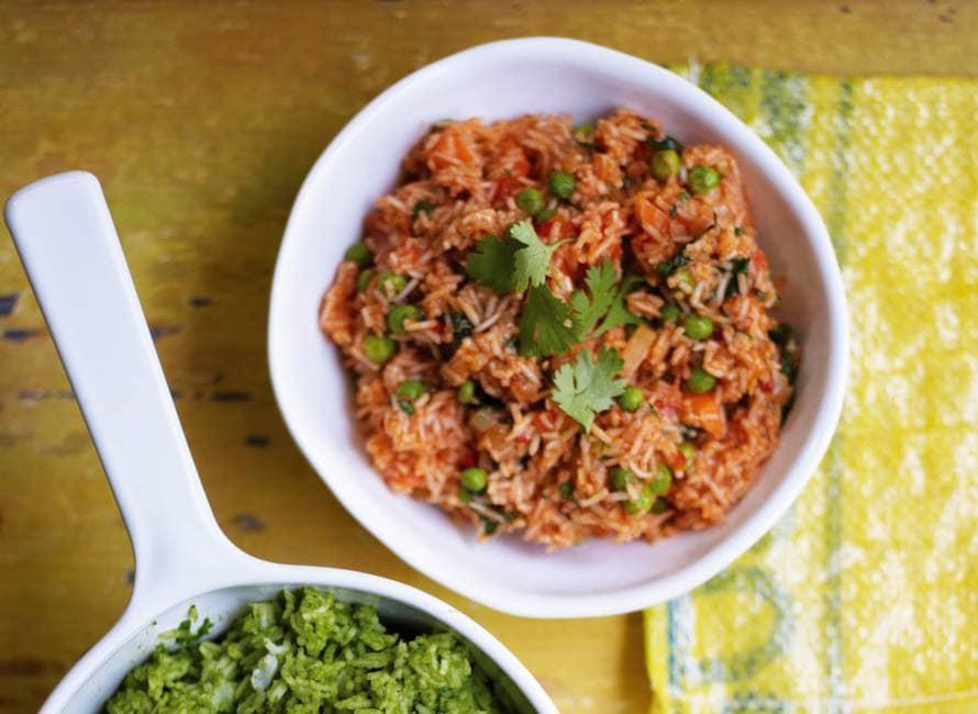 Thomasina Miers' rode rijst