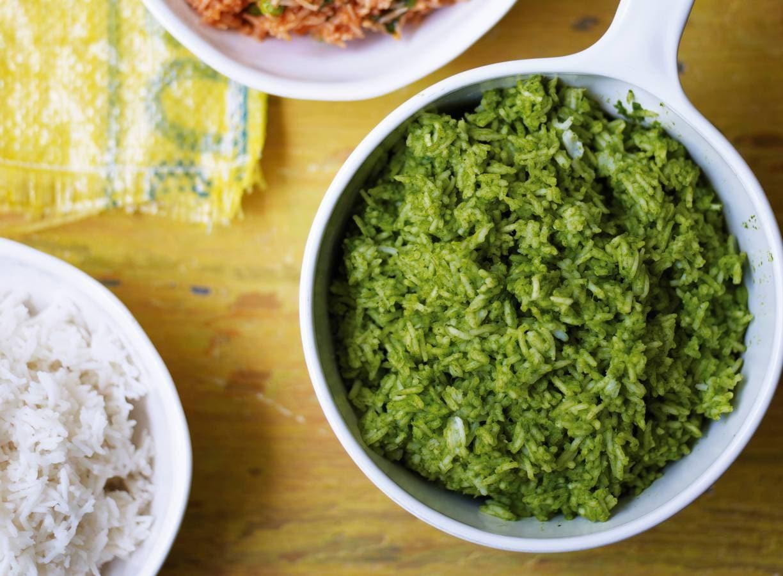 Thomasina Miers' groene rijst
