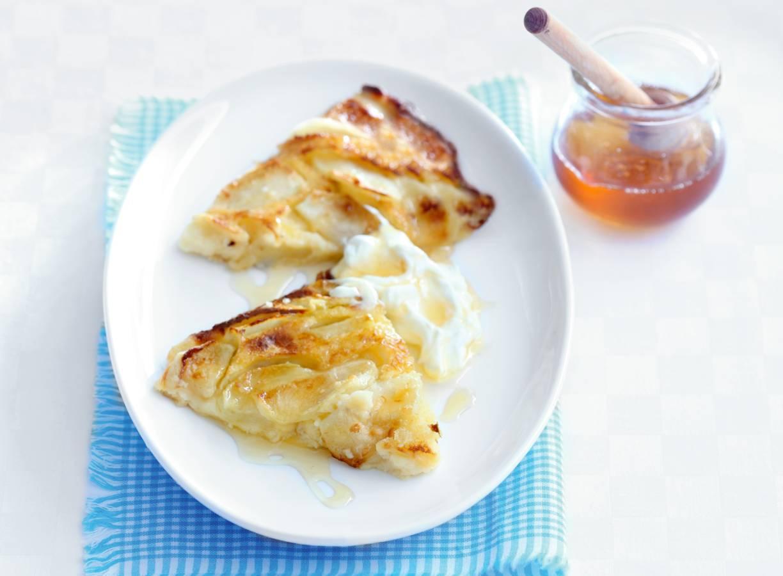 Appelpannenkoek uit de oven