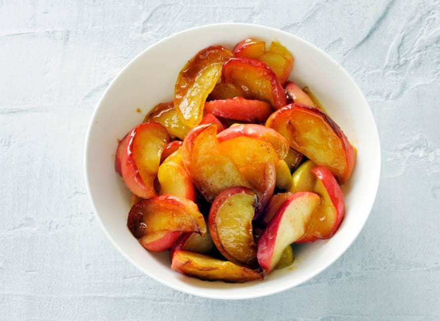 Gebakken appelpartjes met five spice
