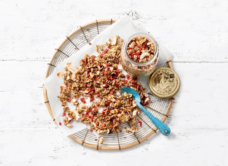Rens Kroes' superfood granola