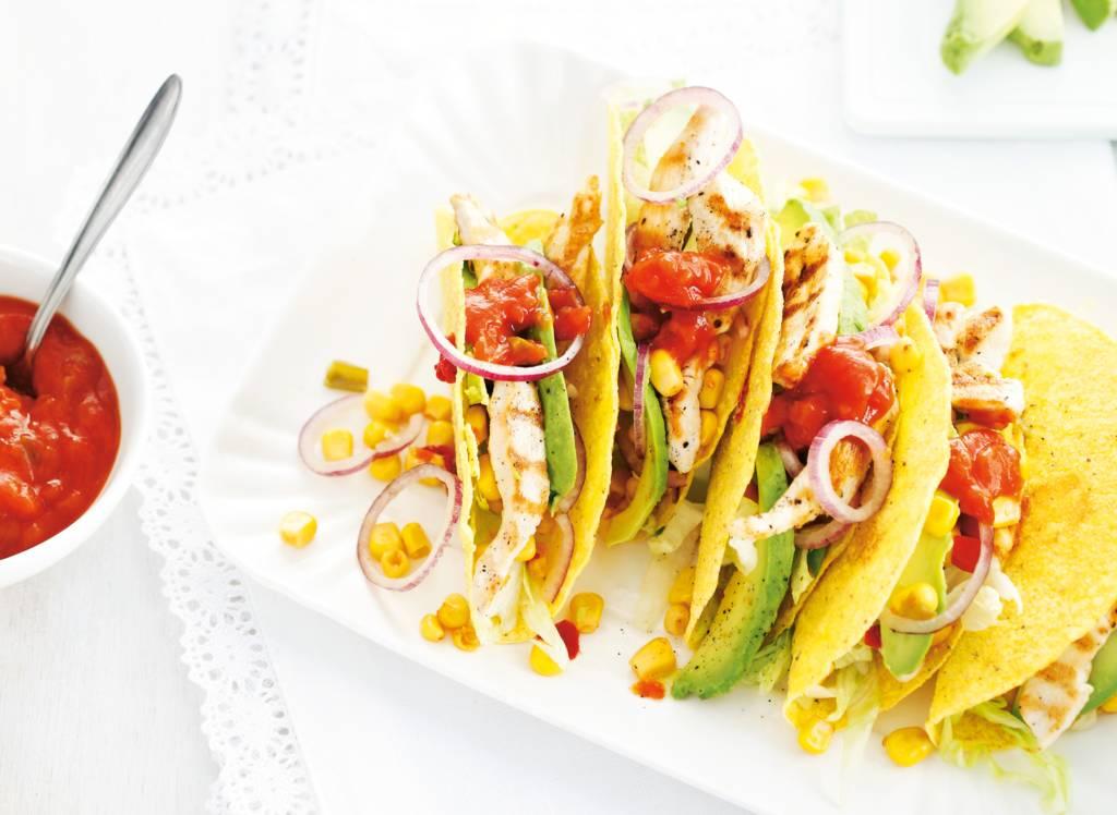 Mexicaanse tacosalade