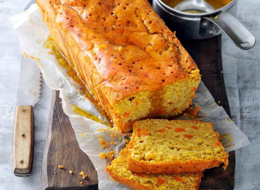 Pompoen-sinaasappelcake