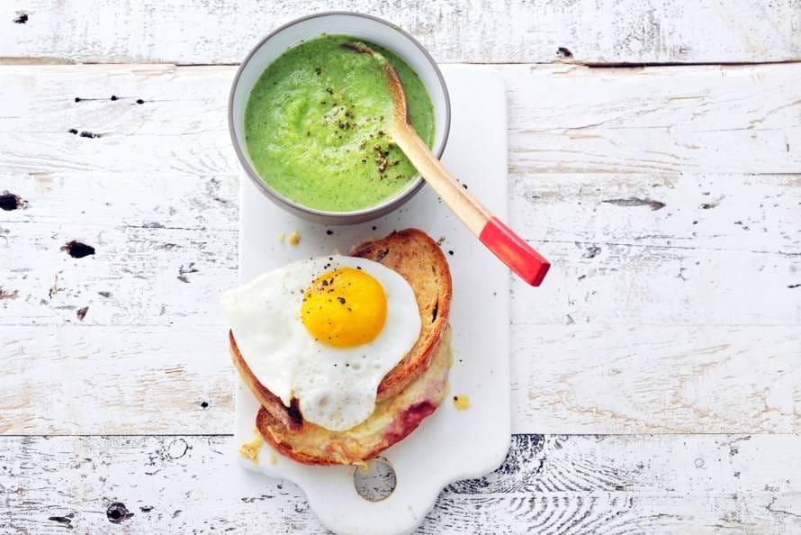 recept broccolisoep ah
