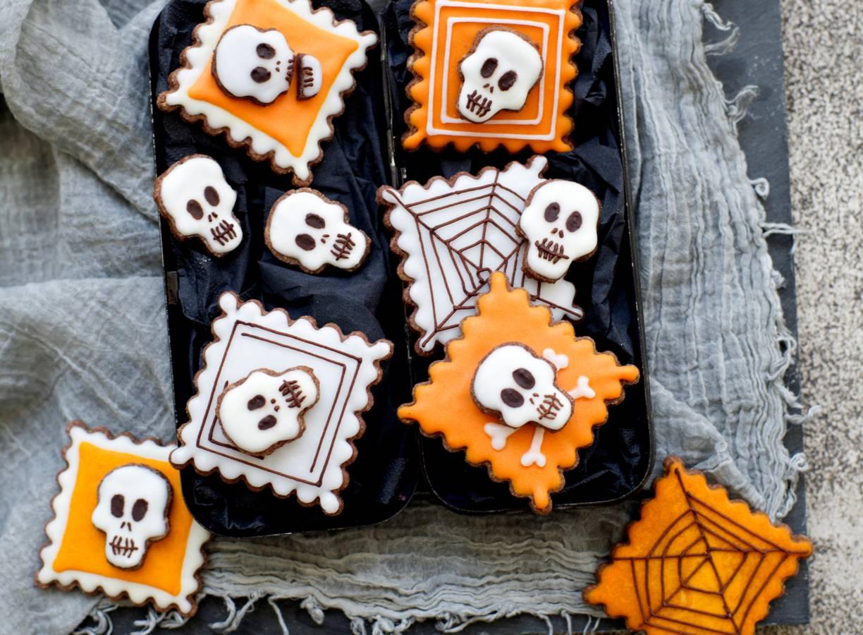 Halloween-koekjes