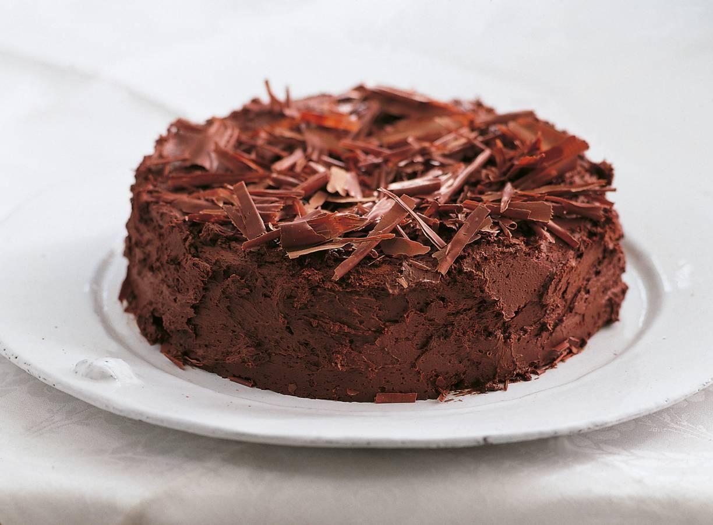 Chocolade-kastanjetaart