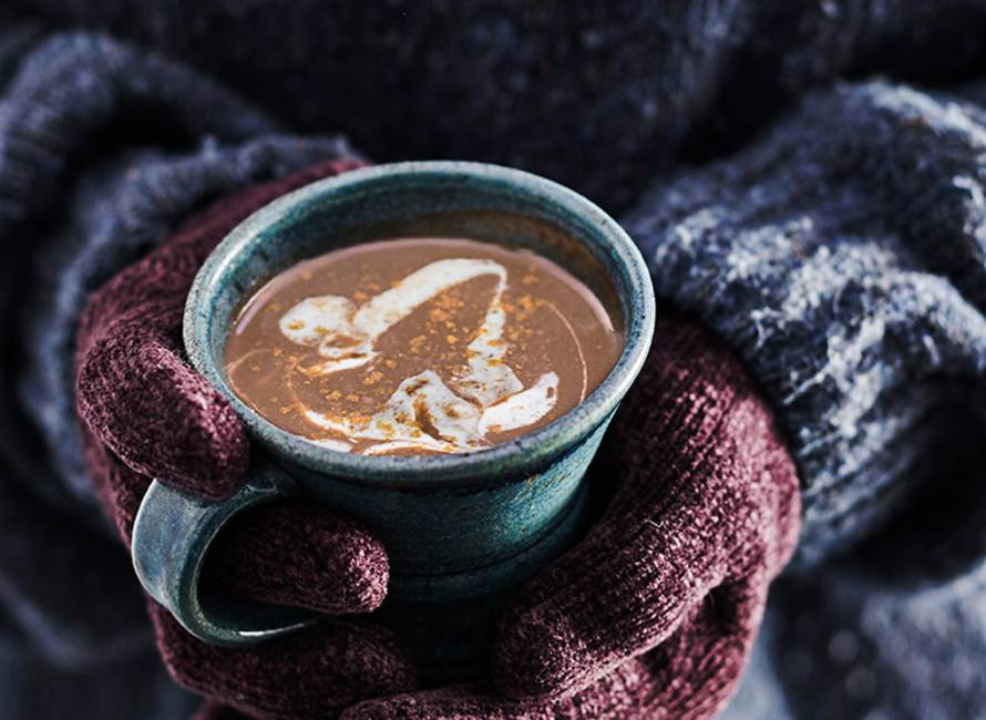5 spices hot chocolate