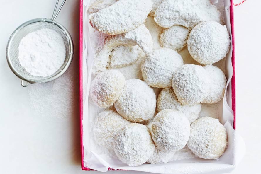 Hazelnoot-sneeuwballen