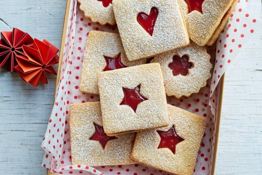 Sandwichkoekjes met jam