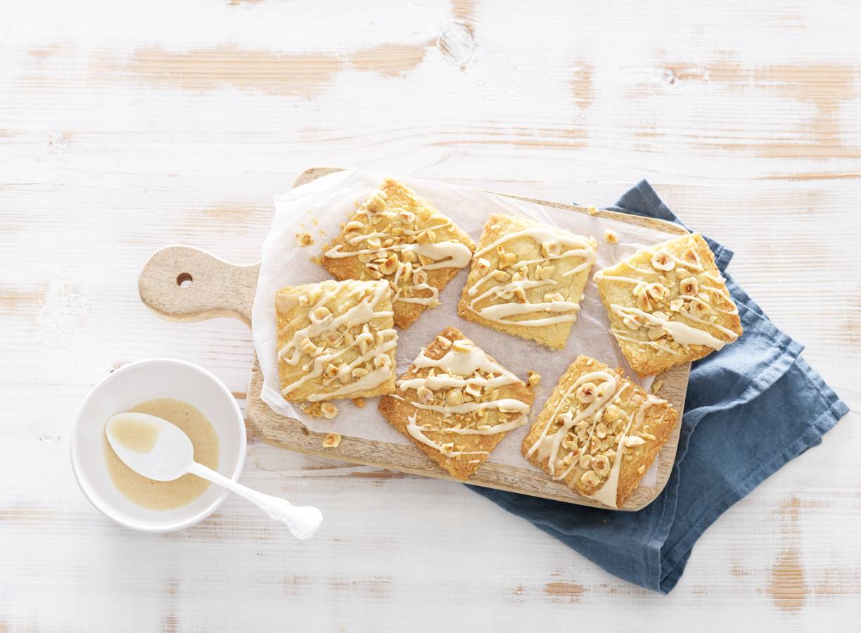 Zandkoekjes met hazelnoten en specerijen
