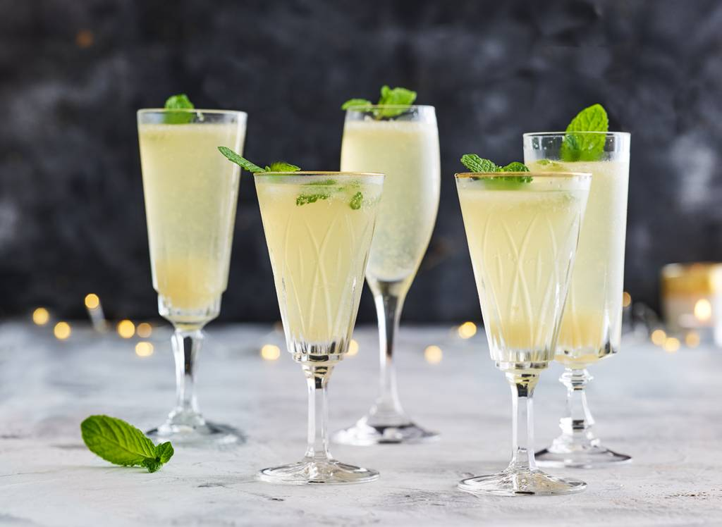 Drankjes met champagne