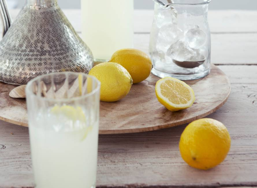 Citroen-gemberfrisdrank