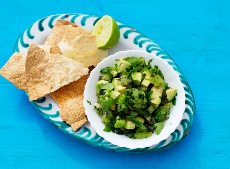 Pittige salsa verde
