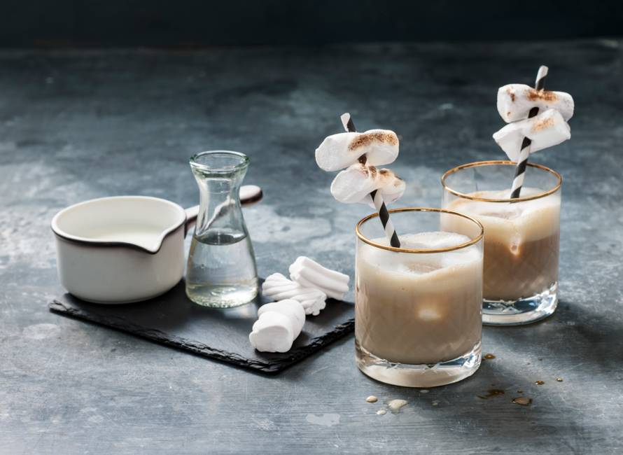 White cocktail