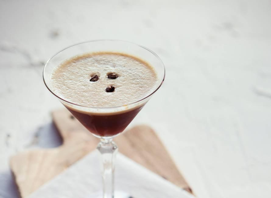 Jeroen Velkamps espresso martini