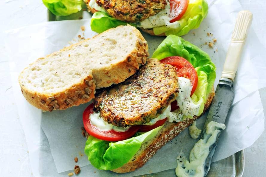 Broodje veggieburger