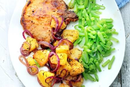 groente vlees recept