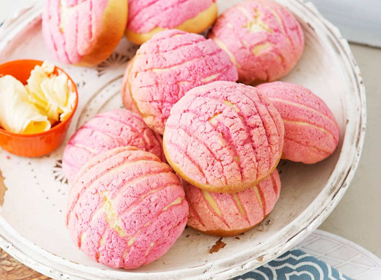 Conchas (Mexicaanse broodjes)