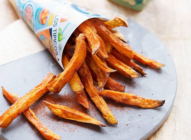Zoete-aardappel friet